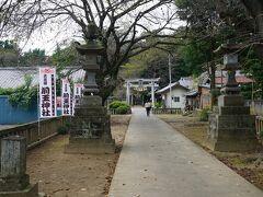 中山道を更に進み、行田市に入ると見えてきたのが前玉神社。こちらにも境内社として浅間神社があります。