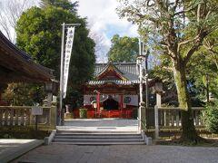 金鑚神社 本庄宿のほぼ北端です。