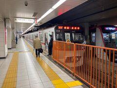 旅の始まりは、都営浅草線の西馬込駅です。