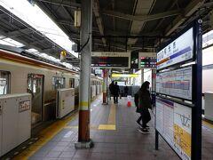 終点の和光市駅に到着です。今回の旅で唯一埼玉県の駅です。  練馬駅(西武有楽町線)→小竹向原駅(副都心線)→和光市駅
