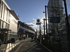 出発から1時間10分ほどで二子玉川駅へ