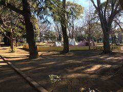 薬円台公園を通過。