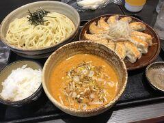 お昼は熱海駅直結のラスカ熱海にある中華料理屋さんにしました。 浜松餃子がおいしかったです。