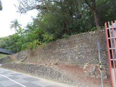 通路からみる永清塔跡  見慣れた風景