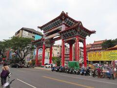 高雄関帝廟の山門