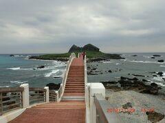 三仙台です、速足で島まで行きました