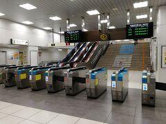 静岡駅にとうちゃくー。在来線側は改札機が14基もあるので、結構利用客多いんですかねー。