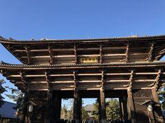 南大門 鎌倉時代に再建されたもの 物凄く貴重じゃない! 現代まで残るということは 地震にも強い建築なのね