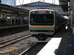2020.12.26 小山 静岡県から群馬県・栃木県と広範囲をカバーする231系であるが、熊本県民は一都三県に行ってはいけないので、合法的に栃木で乗ろう。