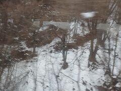 だんだん雪深くなっていきます。