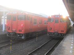 前旅行記では、東萩駅から山陰本線の益田行き普通列車に乗り込むところまででしたのでその続きから。