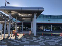 14:30頃、釧路空港に到着。 結構時間がかかり、飛行機に間に合わないのではないかとひやひやしました。
