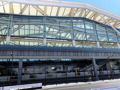 恵比寿での予定がポシャッたので、3月14日のダイヤ改正で開業したばかりの「高輪ゲートウェイ駅」に立ち寄り