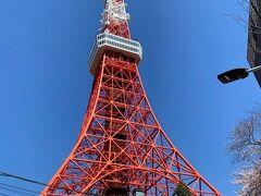 一年ぶりの東京タワー 今回はおやつを食べてすぐに退散  けっこうイイ角度の写真が撮れたナ(^^)
