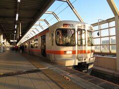 2020.12.28 岐阜 貨物列車ばかり追いかけ18きっぷを無駄遣いしていたため、岐阜までやってきた頃にはすでに日が傾いている。