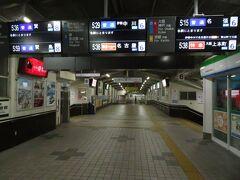2020.12.29 松阪 近鉄電車の方から松阪駅に入る。