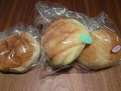 お腹が空いたら食べようと思って買っておいた、友永パン屋のパンも食べられず、1日目が終了しました。