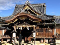 長浜城主だった豊臣秀吉公を祀る豊国神社。