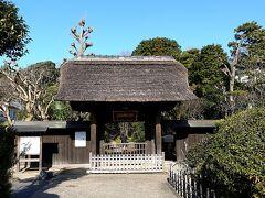 大船には粟船山という小さな丘陵があって、そこに常楽寺というお寺があります。。