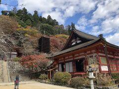 ■1日目 11月22日(日) 関西空港でレンタカーを借り、談山(たんざん)神社に、12:00前に到着。 神社のだいぶ手前から渋滞していたので、少し戻って車を置き、登ってきました。