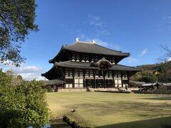 有名な大仏殿へ。