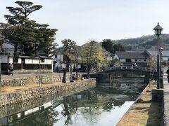 総社から高松へ戻る途中に、倉敷に寄ってみました。