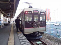 電車での移動