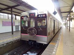 東急1000系だった電車が、福島交通1000系として活躍しています。 では、乗りましょう。  ①福島交通:福島行 飯坂温泉.8:00→福島.8:25 [乗]福島交通:1202