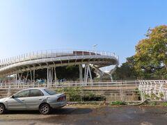 翠華路自行車道橋梁  ライトアップされると綺麗です