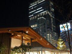 ●てんしば@天王寺公園  お店の明かりにぬくもりを感じる季節になって来ました。