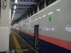 越後湯沢到着。1時間のショートトリップでした。