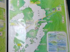 天草~熊本線は熊本市上空を飛ぶルートです。 天草9:55発 熊本10:15着でした。