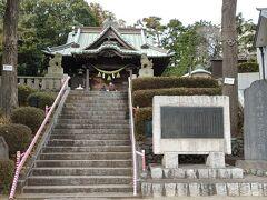 駅から少し離れ「鹿島神社」にお参り
