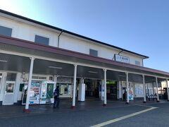 あっという間に久里浜駅に到着しました。。。  バスの乗客も少なくて密回避(^^)v