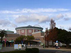 バス停がある、浜名湖パルパル、疫病の影響をもろに受け土日祝のみ営業です。
