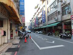 長明街の目立つ門は撤去されたようです