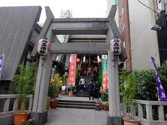 烏森神社の二の鳥居