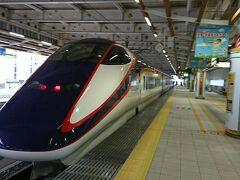 山形駅から山形新幹線に乗車し、新庄へ向かった。新庄が山形新幹線のターミナルとなっており、山形新幹線のホームは独立した感じになっている