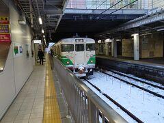 ★16:25 長野駅に到着。すぐに列車を乗り換えます。