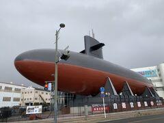 快速で約30分、呉に到着。 てつのくじら館は時間入替え制とのことで時間内にギリギリ入館!本物の潜水艦の中を見学できて良かった~!