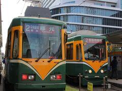 鹿児島中央駅に、無事戻りました。 @170円の乗車賃を支払って、駅の構内へ・・