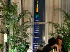 カラフルな東京タワーも垣間見られ、なかなか静かで良い雰囲気です。