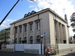 中国銀行の建物のようですが、工事中のようで入れませんでした。