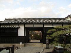 倉敷物語館という建物がありました。  江戸時代に造られた建物で、無料で公開されています。