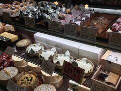 この日は1日中観光をしていたので、2回も甘味処休憩をしました。  1回目は一乗寺中谷というお店です。 和菓子屋さんだけど洋菓子も作ってる。なので気分に合わせて食べたいものを選びました。