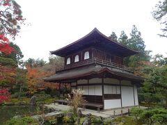 有名な銀閣寺