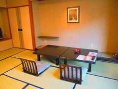 ホテル華乃湯に到着し、客室へ。