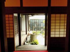 少し歩くと、脇本陣があります。旅籠としての役割も果たしていたそうです。江戸時代の建物の復元です。