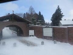 天気が良ければ寄るつもりでいたトラピスチヌ修道院 ここで下車したお客さんもいました