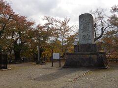 招魂碑  戊辰戦争や西南戦争で戦死した郷土人の慰霊碑。